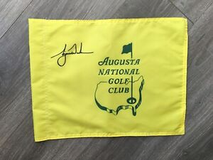 Augusta National Golf Club Souvenir Pin Flag w/ Tiger Woods 2021 Masters PGA