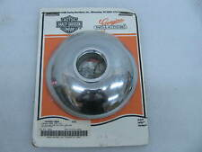 New Harley Davidson Chrome Hub Cap 44465-88A Softail Dyna Springer FXSTS FXWG &
