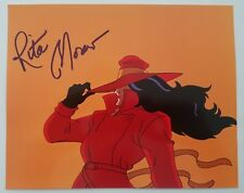 Rita Moreno Signed 8x10 Photo Where in the World is Carmen Sandiego RARE Actress