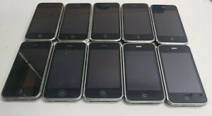 Lot of 10 Apple iPhone Smartphones 3GS A1303, UNTESTED FOR PARTS