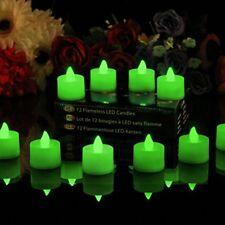 Bougies LED de décoration intérieure rose