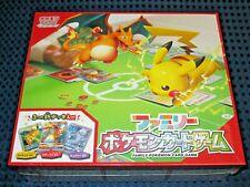 NEW Family Pokemon Card Game Box Set with 3 NEW Deck SUN & MOON Pikachu JAPAN FS
