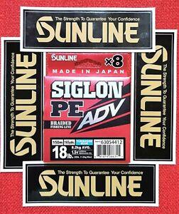 Sunline Siglon ADV, PEx8, 18lb,Turquoise blue