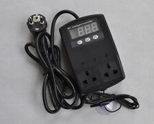 Thermostat pour Reptile Serpent Lézard Émetteur de chaleur Mat Pad Lampe Incubateur UE Plug