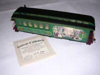 Hawthorne Village Thomas Kinkade's Christmas Express Victorian Carol Combine Car
