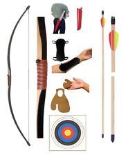 Laupheimer GL145-Set 15 lbs Langbogen Sportbogen Bogenset 4072