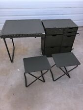 NEW US Military GI Field Desk Army USMC Industrial Steampunk Vintage Decor