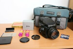 Mamiya 645 Super + Prism Finder + Sekor 80mm 2:8 + Back 120