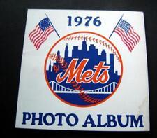 "1976 NY METS Photo Album Book 8"" x 8"" Seaver Torre Grote Harrelson Kranepool"