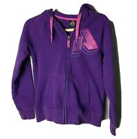 First Ascent Eddie Bauer Women's Hoodie Size Small Full Zip Purple Pink Blue