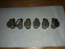 Nos (6pcs) Gits Bros Mfg Drive In Flip Top Oil Cup Oiler 3/4 diameter opening