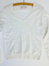 Zara Cotton Blend V Neck Jumpers & Cardigans for Women
