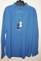 IZOD Saltwater Mens Outpost Relaxed Camp Shirt Ocean Fish NWT $55 L XL or XXL