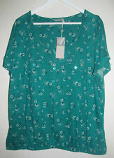 Marks and Spencer Plus Size Stretch Floral Women's Tops & Shirts