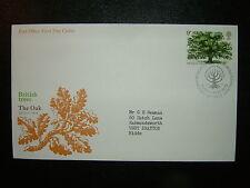 1973 le chêne britannique arbres Post Office FDC & Bureau SHS CV £ 6