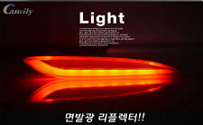 (Fits: Hyundai 2011-2013  Elantra Avante MD)High bright LED rear reflector Lamp