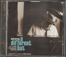 PAUL CARRACK A Different Hat NEW CD 12 track Royal Philharmonic Orchestra 2010