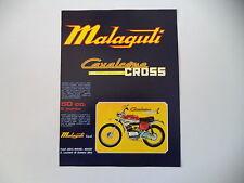 advertising Pubblicità 1973 MOTO MALAGUTI CAVALCONE 50 CROSS R RADIALE