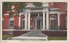 c1910 ROCHESTER Minnesota Minn Postcard Mn THE COLONIAL Hotel Entrance