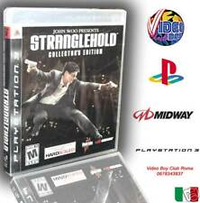 John Woo STRANGLEHOLD COLLECTOR EDITION NUOVO SONY PS3