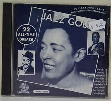 Jazz Gold, Collectors Issue, 22 All-Time Greats, CD Clearance Sale