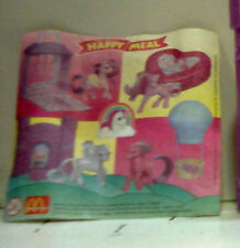 MY LITTLE PONY MIO MINI MC DONALD'S 1999 CARTINA ILLUSTRATIVE PAPER BEIPACKZETT