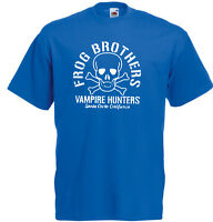 Frog Brothers Vampire Hunters The Lost Boys Inspired Men's Printed Soft T-Shirt