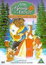 BEAUTY AND THE BEAST PART 2 - AN ENCHANTED CHRISTMAS DVD Walt Disney Film Movie