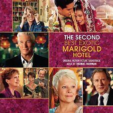 THOMAS NEWMAN - THE SECOND BEST EXOTIC MARIGOLD HOTEL/OST  CD NEU NEWMAN,THOMAS