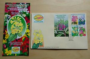2000 Malaysia Stamp Week Highland Flowers, 4v Stamps & MS on 1 FDC (KL Cachet)