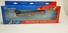 Wooster #224 US AIR B737-300 World Airlines Gray Scale Model Aircraft Plane