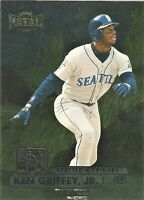 1998 Fleer Skybox Metal Universe Ken Griffey Jr #161 Seattle Mariners Card