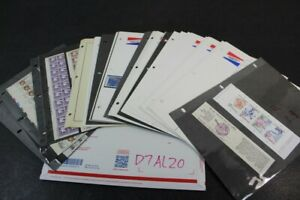 CKStamps : Amazing Mint US Stamps Collection In Pages ( Face Value $135.00