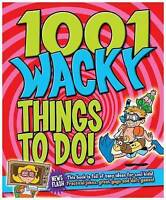 1001 Wacky Things to Do! (Activity Book), n/a, Very Good Book