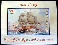 SHIP STAMPS HMS VICTORY BATTLE OF TRAFALGAR MNH MARSHALL ISLANDS SAILING SHIPS