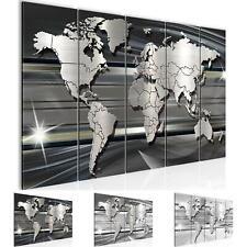 WANDBILDER XXL BILDER Weltkarte World map VLIES LEINWAND BILD Wohnzimmer