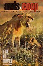 Revue Amis-Coop 129  / 1971  Roi des Animaux. La Terre