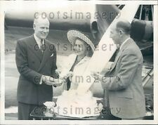 1939 Radio Singer Jessica Dragonette Pennsylvania Airlines Birthday Press Photo