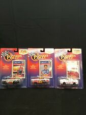Set of (3) #24 Jeff Gordon 1/64 NASCAR Winner's Circle Diecast Stock Car Series