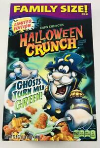 Cap'N Crunches Halloween Crunch Family Size 22.8 oz
