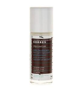 Korres 48 Hour Equisetum Deodorant,Intense Perspiration,,Sensitive Skin
