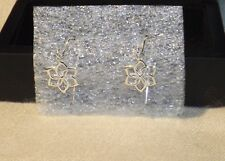 The Hobbit Galadriel Flower Earrings Sterling Silver Authentic by Noble New