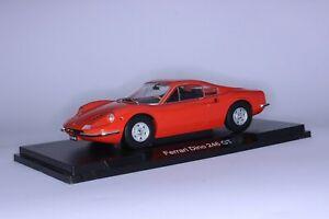 MCG Ferrari Dino 246 GT 1969, Orange, 1:18