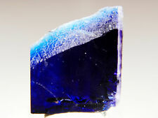"1.15"" Gemmy Deep Blue Halite Single Crystal, Carlsbad, New Mexico! HL446"