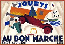 Paris JOUETS  AU BON MARCHÉ   1927     Print  Poster