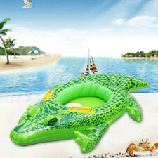 Inflatable Crocodile Baby Kids Safety Swimming Pool Float Seat Boat Ring Wheel