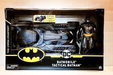 "DC Universe BATMAN and BATMOBILE Tactical Set 12"" Figure Brand New"