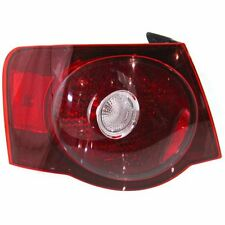 New VW2800127 Driver Side, Outer Tail Light for Volkswagen Jetta 2008-2010