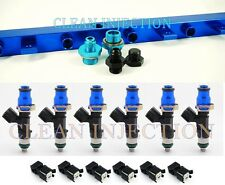 BMW E30 E34 Bosch ev14 650cc fuel injectors rail M20 325i B25 325IS E28 TURBO