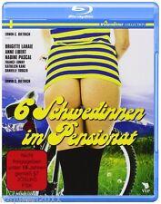 6 Schwedinnen im Pensionat [Blu-ray] Brigitte Lahaie * NEU & OVP *